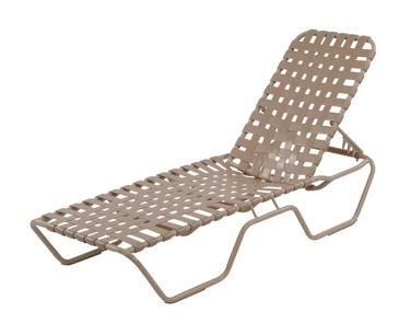 Picture of Country Club Chaise Lounge Cross Weave