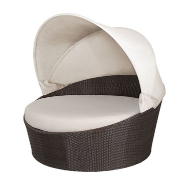 Picture of Moon Daybed with Canopy (Round) SO-2022-225