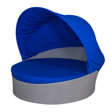 Picture of Aqua Medium Daybed w/ Canopy (Round) SO-3401-225