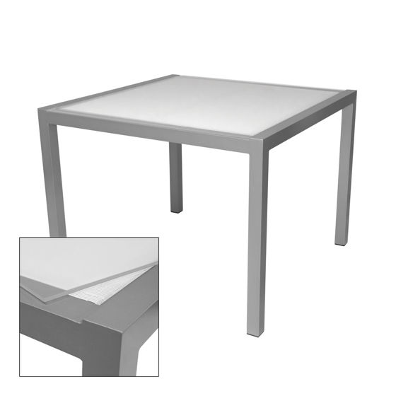Picture of Fusion Dining Table - Seats 4 (Square) SO-3001-305