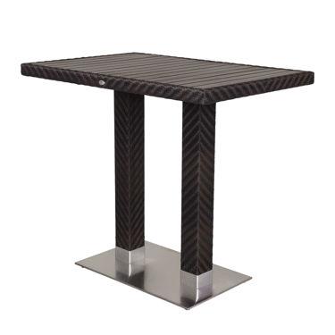 Picture of Arizona Rectangular Bar Table (Gray) SC-2206-316