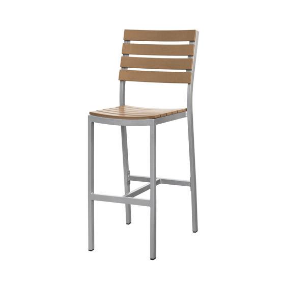 Picture of Vienna Bar Side Chair (Teak) SC-2404-172