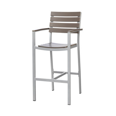 Picture of Vienna Bar Arm Chair (Gray) SC-2404-173