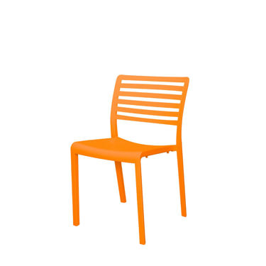 Picture of Savannah Dining Side Chair (Orange) SC-2603-162
