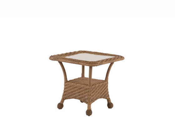 "Picture of Carolina Deep Seating Carolina Honey Tables Honey 24"" Square Side Table"