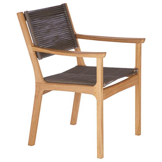 Monterey Armchair - Teak & Cord
