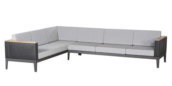 Aura Modular Six-Seat Corner Settee