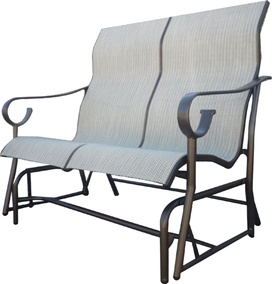 Picture of Sling Loveseat Glider S-285