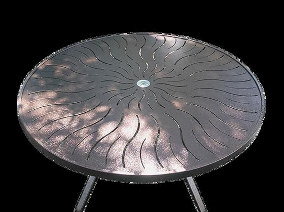 48 inch Round Aluminum Patio Table – R-48P