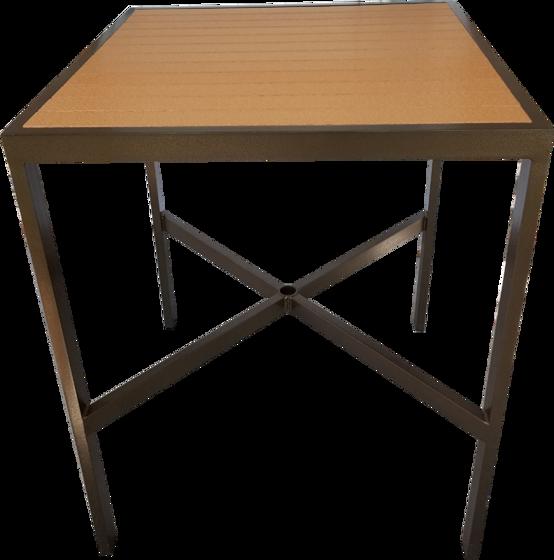 Square Wood Bar Table EWB-42SQ