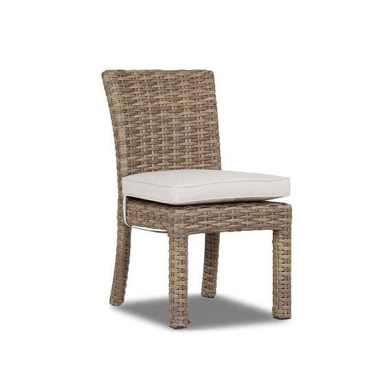 Havana Armless Dining Chair Designer Outdoor Furniture