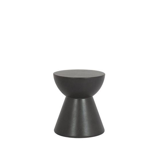 GRC Round End Table -Dark Grey Designer Outdoor Furniture