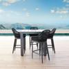 Milano Barstool Designer Outdoor Furniture